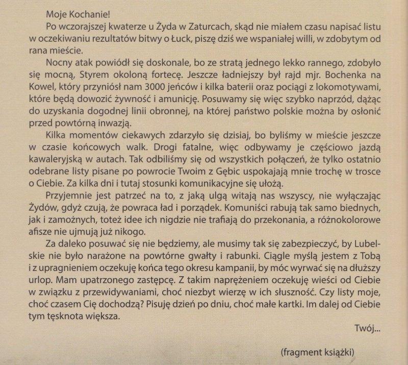 Listy z wojny polsko-bolszewickiej 1918-1920 Stanisław Jan Rostworowski (oprawa twarda)