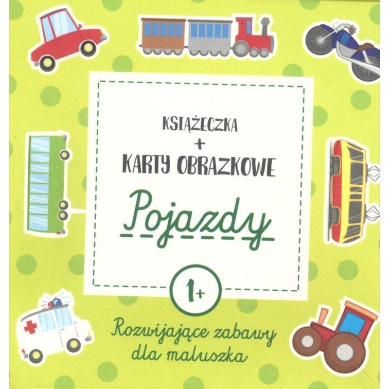 Pojazdy 1+ Książeczka + Karty obrazkowe