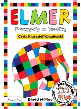 Posłuchajki Elmer Przygody w kratkę David McKeeAudiobook mp3 CD