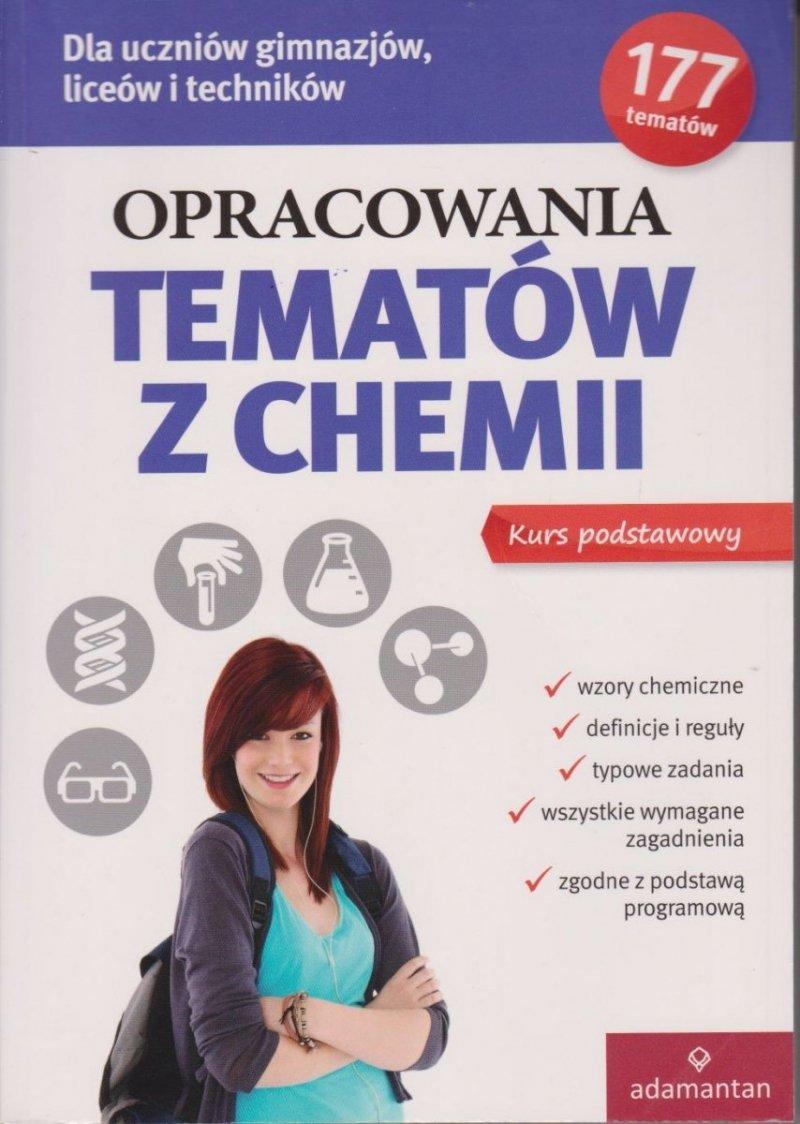 Opracowania tematów z chemii Poziom podstawowy Witold Mizerski