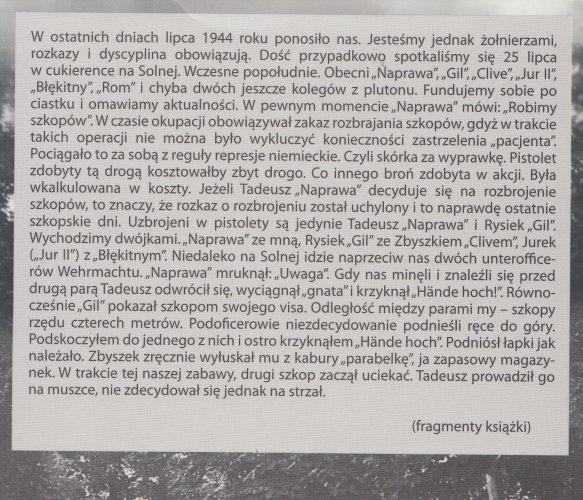 """Prawie życiorys 1939-1956  Ryszard Bielański Rom"""" (oprawa miękka)"""