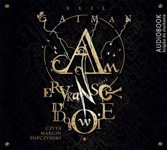 Amerykańscy bogowie Nail Gaiman Audiobook mp3 CD