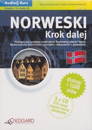 Norweski - krok dalej (książka + 3 CD)