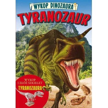 Tyranozaur. Wykop dinozaura.
