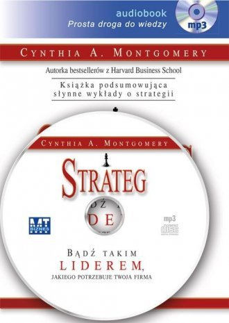Strateg (CD mp3) Cynthia A. Montgomery