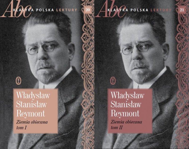 Ziemia obiecana t. 1+2 Władysław Stanisław Reymont ABC Klasyka polska Lektury