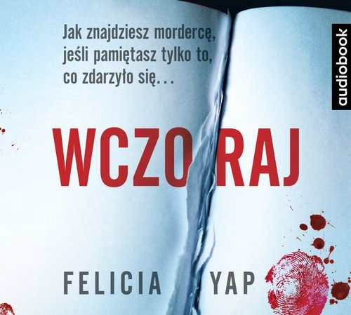 Wczoraj Felicia Yap Audiobook mp3 CD