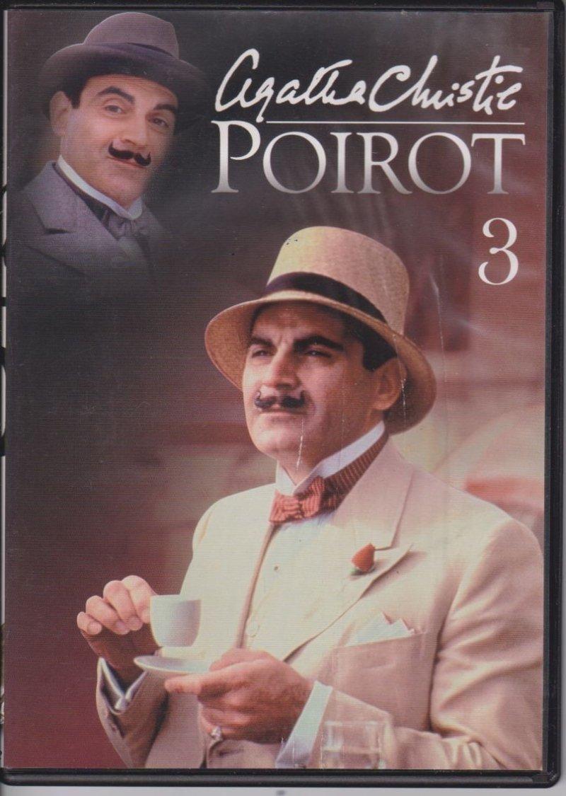 Agatha Christie Poirot cz. 3 Trójkąt na Rodos, Mieszkanie na trzecim piętrze DVD