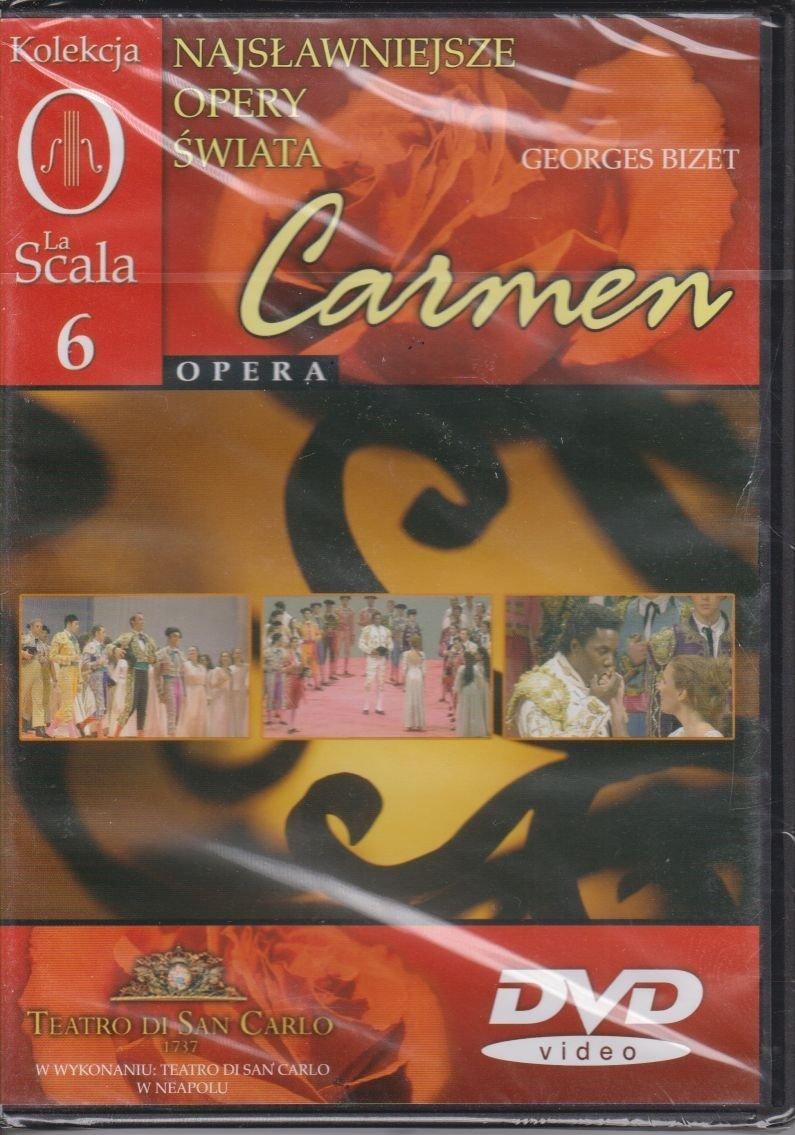 Najsławniejsze opery świata cz. 6 Carmen DVD