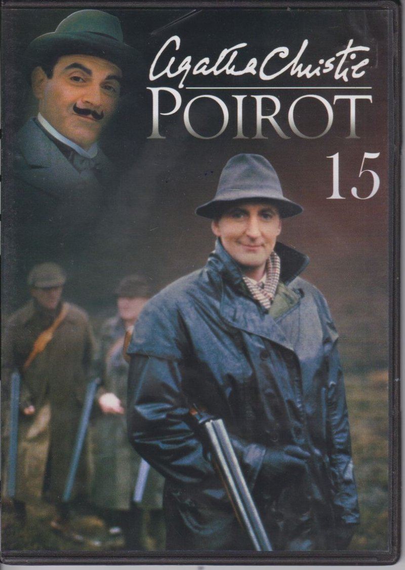 Agatha Christie Poirot cz. 15 Morderstwo na balu zwycięstwa, Tajemnica Hunter's Lodge DVD