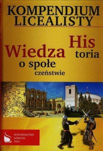 Kompendium licealisty Historia Wiedza o społeczeństwie Jacek Talik Piotr Toma Jacek Trzeciak