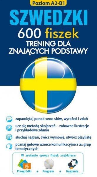 Szwedzki 600 fiszek. Trening dla znających podstawy Magdalena Wiśniewska