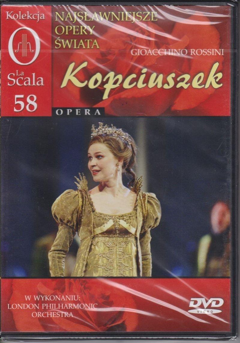 Najsławniejsze opery świata cz. 58 Kopciuszek DVD