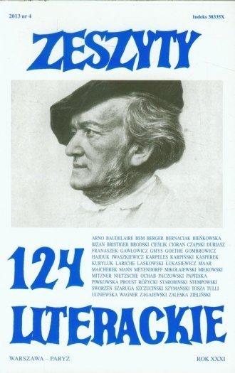 Zeszyty Literackie 124