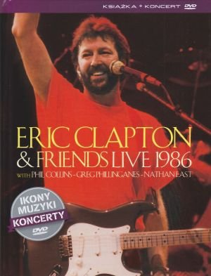 Eric Clapton & Friends Live 1986 książka + film