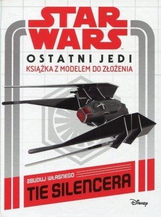 Star Wars Ostatni Jedi Książka z modelem Zbuduj własnego Tie Silencera