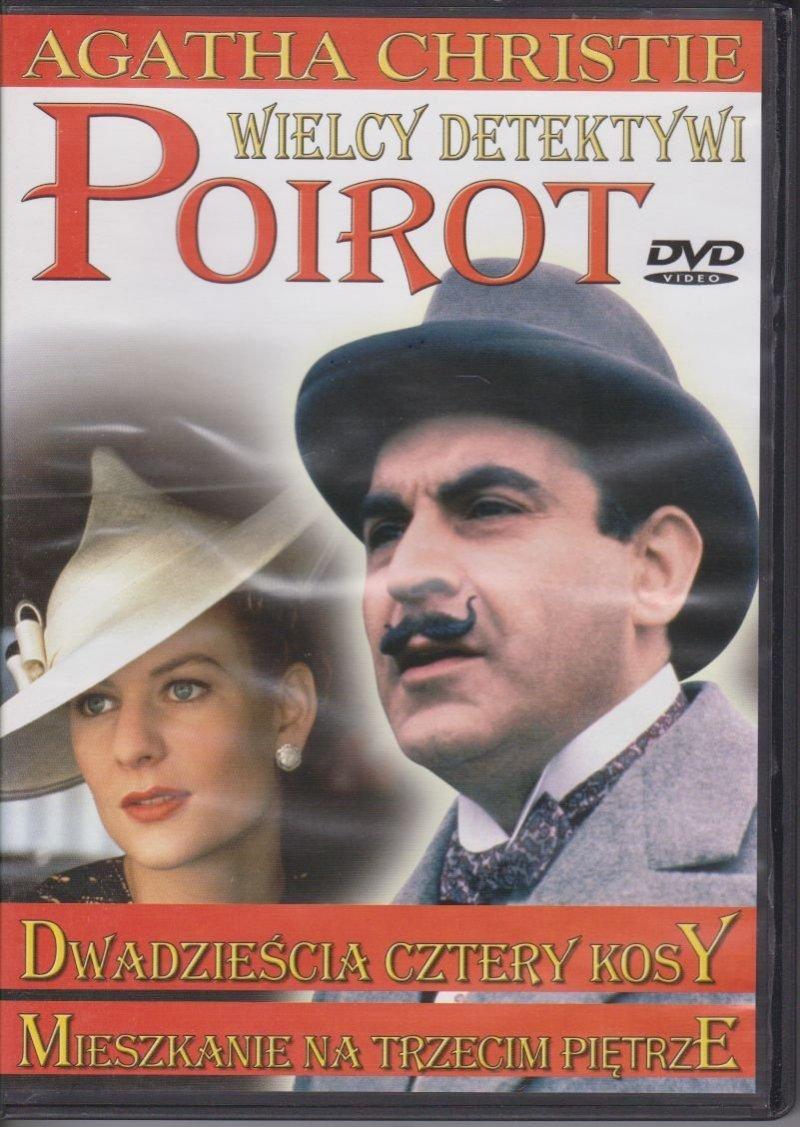 Poirot Wielcy detektywi Agatha Christie cz. 4 Dwadzieścia cztery kosy, Mieszkanie na trzecim piętrze DVD