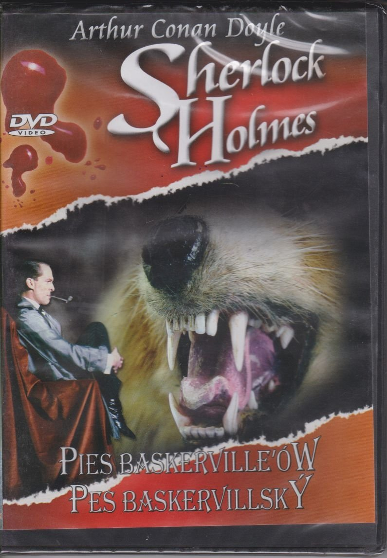 Sherlock Holmes Pies Baskerville'ów DVD