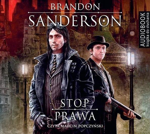 Stop prawa Brandon Sanderson Audiobook mp3 CD