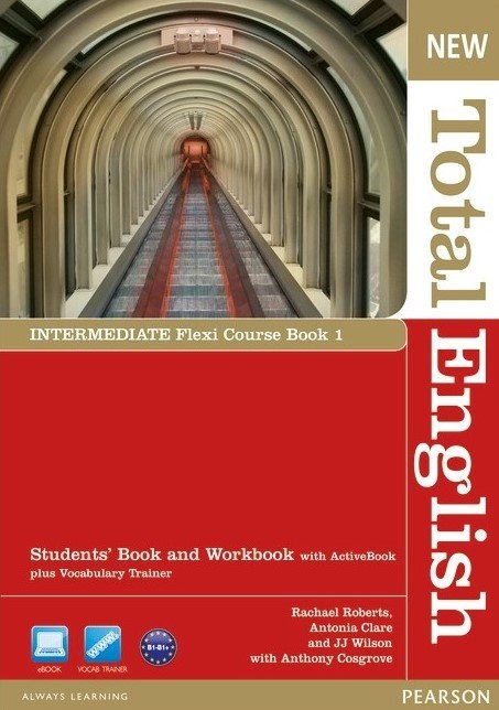 New Total English Intermediate Flexi Course Book 1 Students's Book and Workbook B1-B2