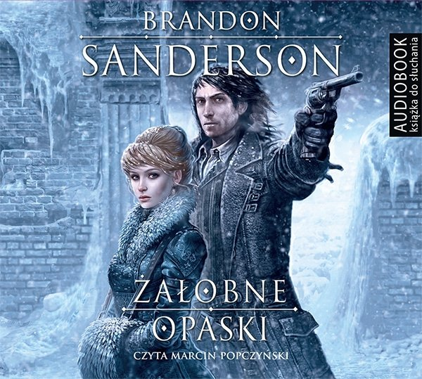 Żałobne Opaski Brandon Sanderson Audiobook mp3 CD