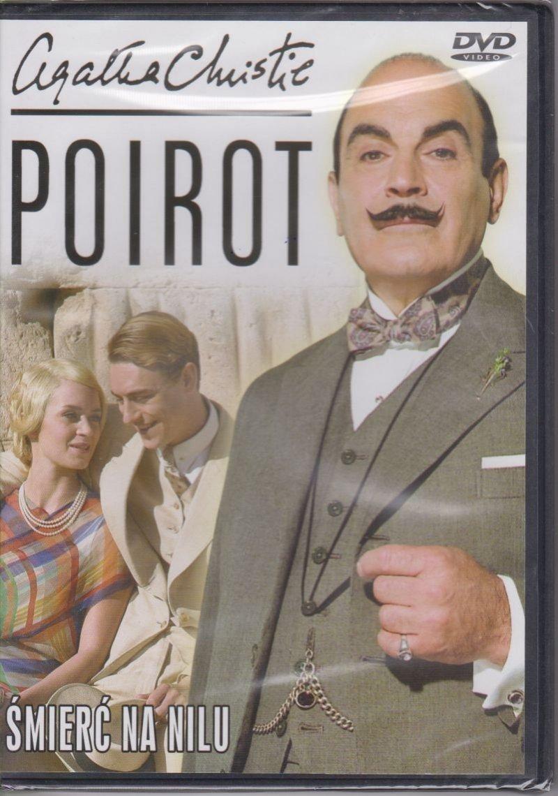Poirot Agatha Christie cz. 19 Śmierć na Nilu DVD