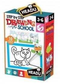 Szkoła Rysowania Krok Po Krok Puzzle Progresywne Headu