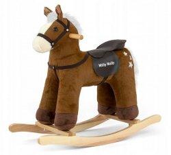 Konik Koń na biegunach Pepe Dark Brown Brązowy Bujak #B1