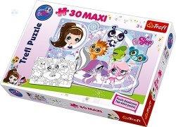 Puzzle Dwustronne Littlest Petshop 30 Maxi Puzzle
