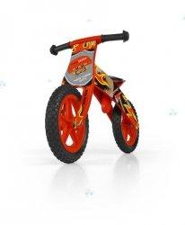 Drewniany rowerek biegowy Flip Czerwony #B1