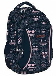 Plecak Młodzieżowy Emotikony Różowe Bp-26 Emoji 2019