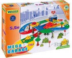 Kid Cars 3d Garaż z Trasą 5,5m 2 Poziomy Wader - 53130 #A1