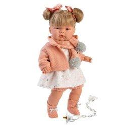 Hiszpańska lalka dziewczynka Joelle – płacze 38cm  #T1