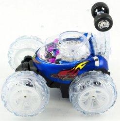 Tumbler Samochód Rc Zdalnie Sterowany Niebieski #E1
