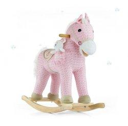 Koń na biegunach Pony Bujak z Misiem  #B1