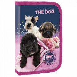 Piórnik dwuklapkowy bez wyposażenia The Dog