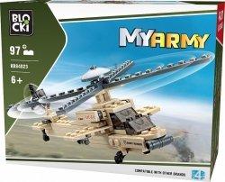 Klocki Blocki Myarmy Wojsko Helikopter 97 el.
