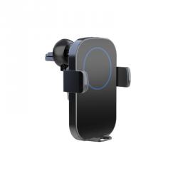 TECHLY 108798 Techly Automatyczny uchwyt samochodowy smartphone z ładowarką indukcyjną Qi 10W