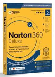 Norton 360 Delux 50GB PL 1 użytkownik, 5 urządzeń, 1 rok 21395105