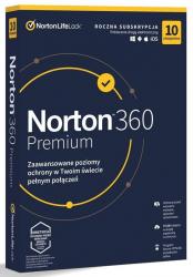 NORTONLIFELOCK 360 premium 75GB PL 1 user 10 device 12mo generic ret1 mm