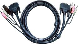 Kabel KVM ATEN 1.8m 2L-7D02UD