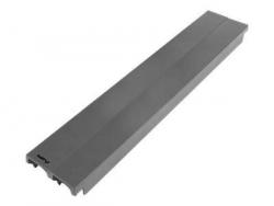 LANBERG 19inch plastic fast assembly fire retardant blanking panel 2U grey