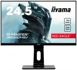 Monitor IIYAMA 24.5 1920 x 1080 GB2560HSU-B1 C Czarny