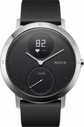 Withings Steel HR - smartwatch z pomiarem pulsu (40mm, czarny)