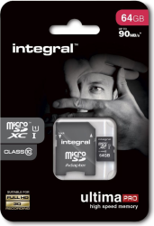 Karta pamięci INTEGRAL 64 GB Adapter