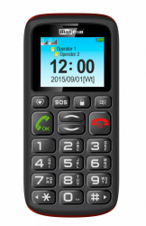 Telefon MAXCOM MM428BB Czarny