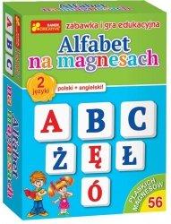 Gra Edukacyjna Alfabet na Magnesach Ranok
