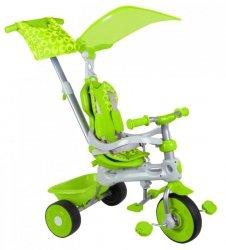 Rowerek trójkołowy 3 w 1 Zielony Baby Trike