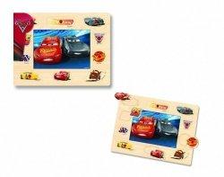 Puzzle i Układanka Drewniana z Pinezkami 2w1 - Cars 3
