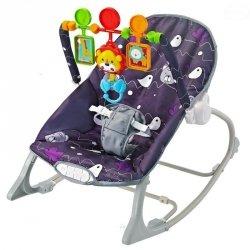 Leżaczek Little Forest Purple #D1